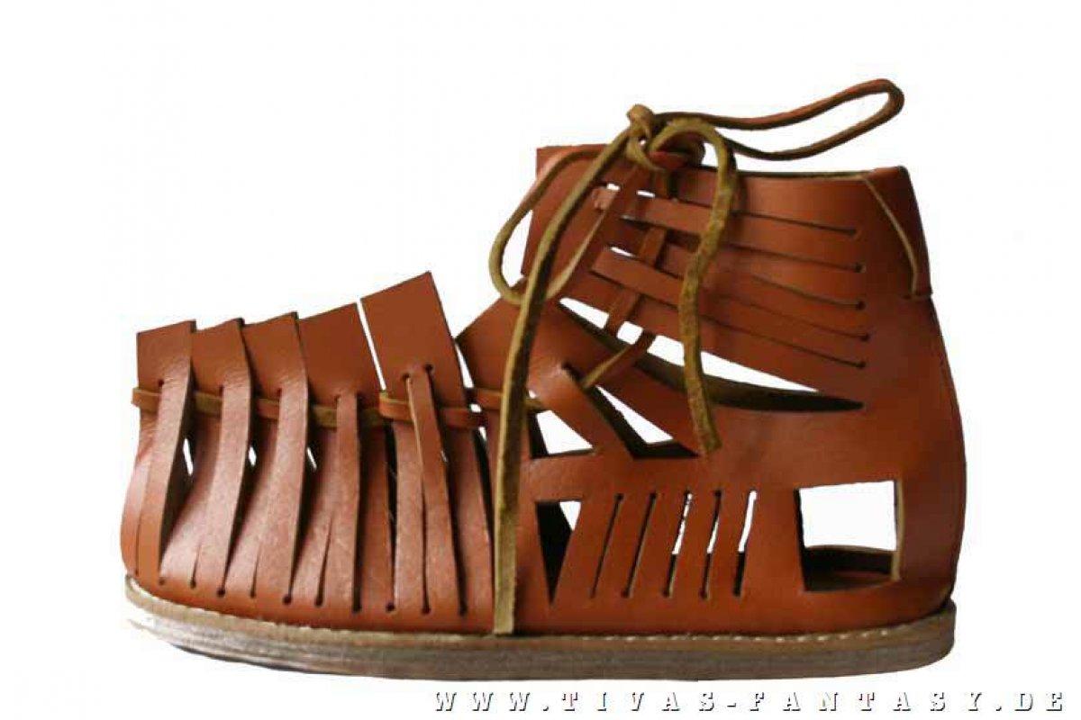 buy online 633b2 d11e0 Römische Ledersandalen R83